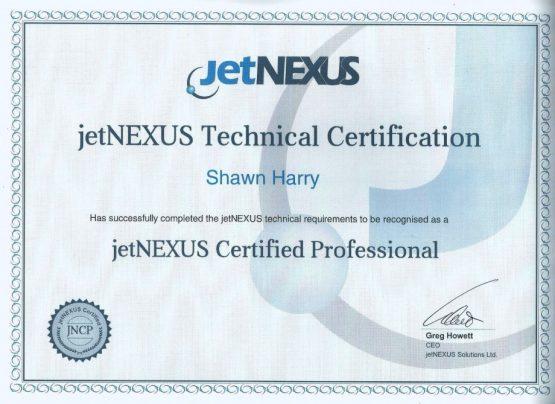 JetNexus Certified Professional
