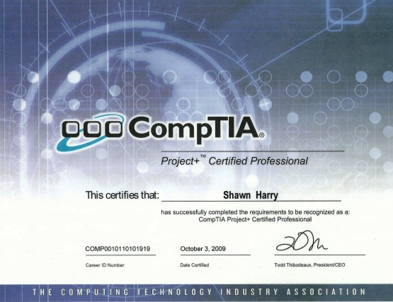 Project+ Certified Professional