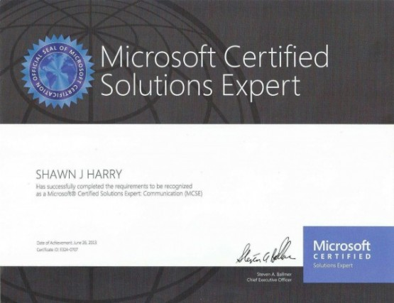 Microsoft Solutions Expert