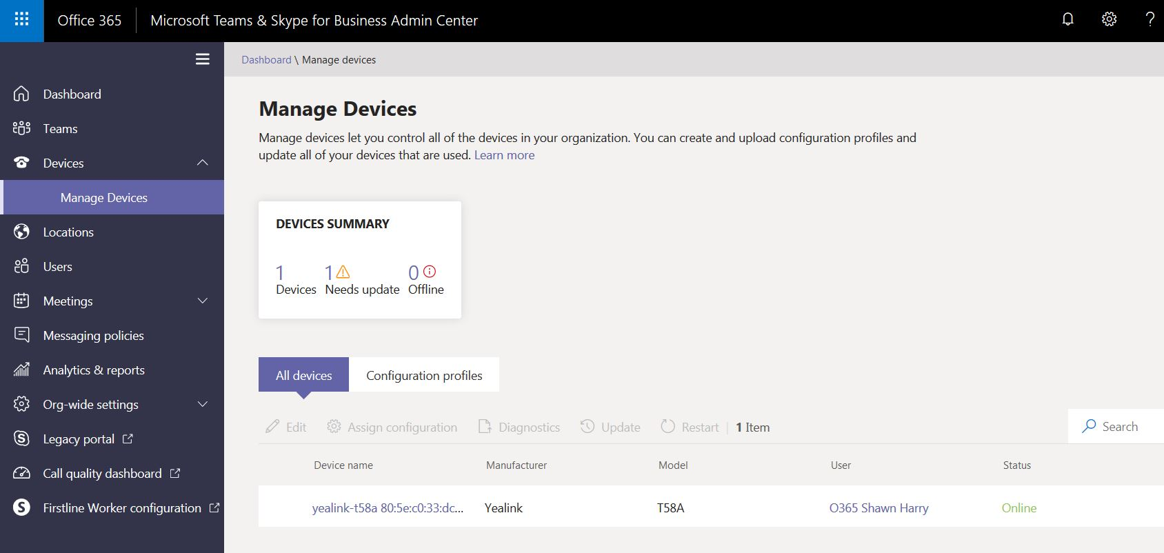 Shawn Harry | Configuring Yealink T58A for Microsoft Teams