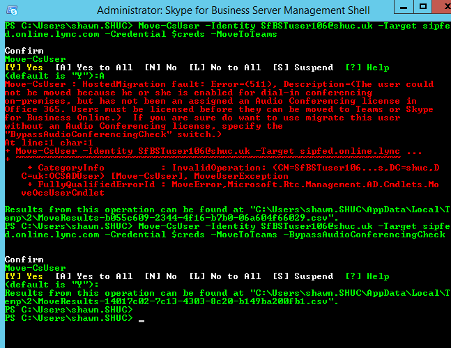 Shawn Harry | Moving a Skype for Business Server user directly to