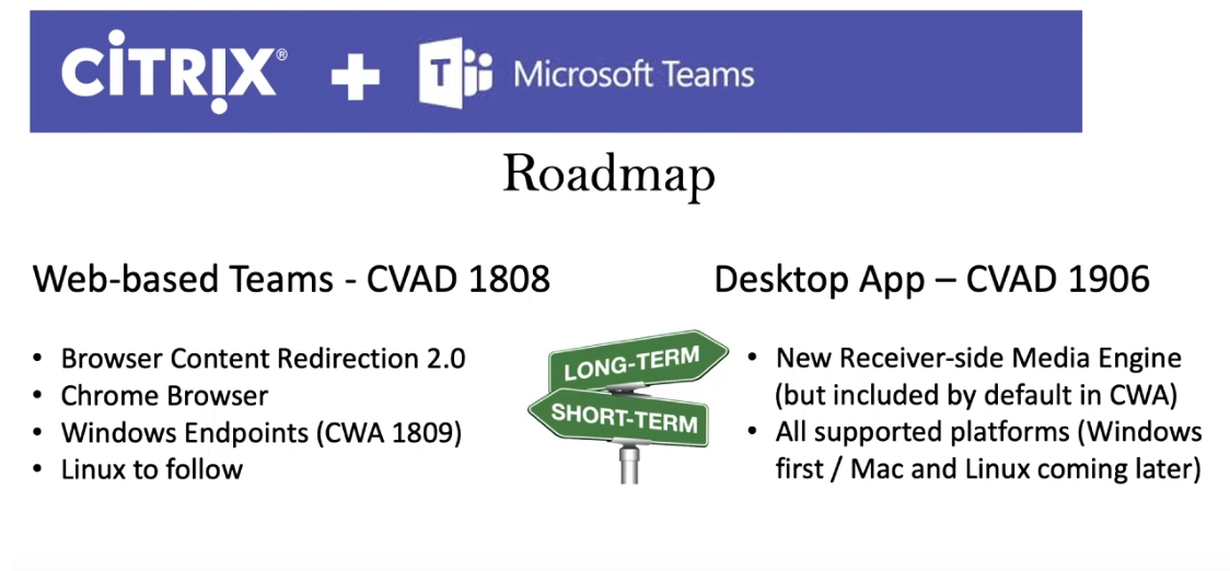 Shawn Harry | Teams Desktop – Citrix Full VDI Support Roadmap